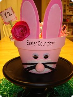 DIy Countdown to Easter Pot