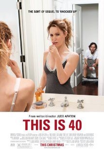 [capsule review] This Is 40 - If you're of an age, this is totally relatable and really funny.  The medical montage was totally awesome.  But overall, it hit a bunch of right notes of being not young anymore but also not old.  (Regal Fenway, 12/30/2012)