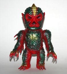 Wombat Toys Red Comet X http://www.viciousfun.com/kaiju/wombat-toys.html
