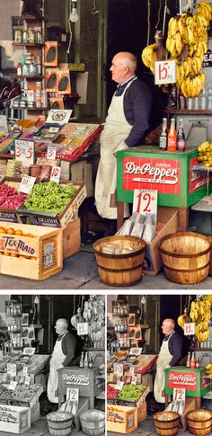 Artist Colorizes Old Black & White Photos Making History Come To Life. Drink Dr. Pepper