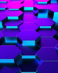 Purple and Blue Honeycomb Pattern Cool Backgrounds Wallpapers, Pretty Wallpapers, Colorful Backgrounds, Phone Backgrounds, Metallic Wallpaper, Colorful Wallpaper, Cool Wallpaper, Cellphone Wallpaper, Iphone Wallpaper
