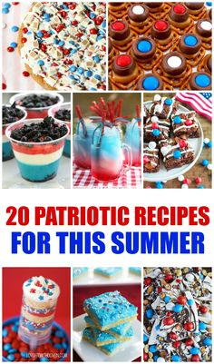 20 Patriotic Recipes