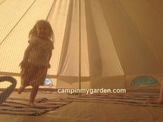 #children adore #camping  so give them all the room in the world #travel #families http://tinyurl.com/qe23z7o #nocrowds
