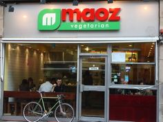 Maoz vegetarian, Soho - great cheap but delicious veggie fast food. 43 Old Compton St, Soho. 11:00-1:00am. Mains $4.40-6.50.