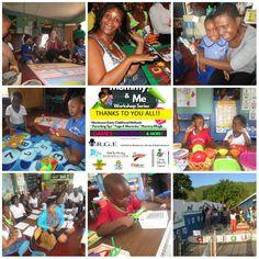 Curlin Johnson Early Learning Centre, Jamaica November 2015