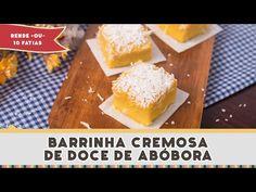 Barrinha de Doce de Abóbora - Receitas de Minuto EXPRESS #156 - YouTube