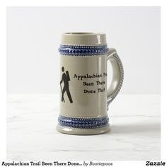Appalachian Trail Been There Done That Beer Stein