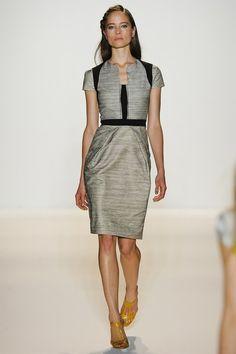 37cbbed603 Lela Rose Spring 2012 Ready-to-Wear Collection - Vogue Negocio Chique