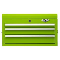 The Original Pink Box – 26-Inch Lime 3-Drawer Chest