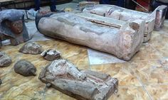 Egyptian police confiscate three looted mummies