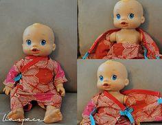 Baby Alive kimono
