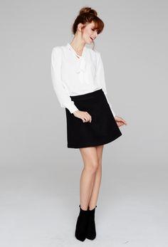 #black #skirt