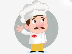 Chef_howdy - like this character more, but chubbier with timers