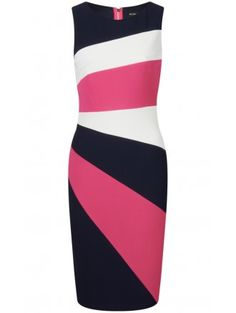 BERNSHAW Sabrina Stretch Dress Multicolour SOLD