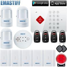 92.12$  Watch now - Wireless home security set 5 door/window open alarm sensor 3 motion detector 2 RFID keypad 1 siren S3b  #magazineonlinewebsite