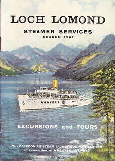 Caledonian Steam Packet Company/British Railways - Loch Lomond steamer ...