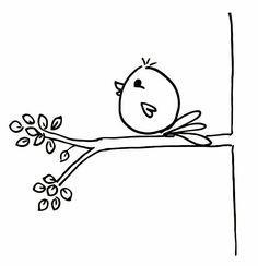 easy bird drawings step by step Bird Drawings, Doodle Drawings, Doodle Art, Bird Doodle, Cute Easy Drawings, Simple Doodles Drawings, Easy Chalk Drawings, Cute Doodles, Fun 2 Draw