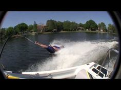 2006 World's Strongest Man, Phil Pfister, is about to become the world's strongest barefoot water skier.