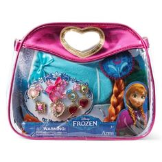 Disney Frozen Princess Anna Jewelry, Hair Braid & Mittens.  For details or ordering click on the image!