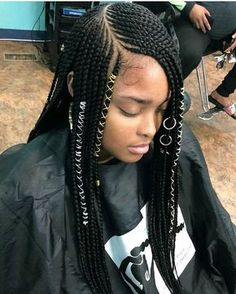 Feed In Box Braids Ideas pin fabulous empress brie on braids feed in braids Feed In Box Braids. Here is Feed In Box Braids Ideas for you. Feed In Box Braids different look on half up half down feed in with box braids. Feed In . Braided Hairstyles Updo, Feed In Braids Hairstyles, My Hairstyle, African Hairstyles, Girl Hairstyles, Black Hairstyles, Hairstyle Images, Hairstyles Pictures, Black Girl Braids