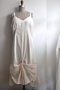 Styling https://www.etsy.com/ca/listing/153124881/cotton-slip-dress-with-pleated-drape