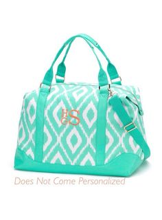 528262745821 Free shipping Large Ladies Overnight Duffle Bag by CentralBoutique Monogram  Tote