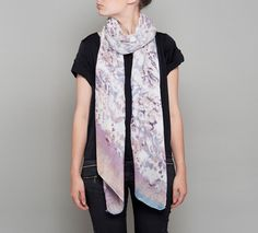 The Lola Rose Shop has an Autumn scarf collection, in luxuriously soft wool or silky viscose, features unique block and layered prints in subtle tonal or striking contrasting colour combinations. Lola Rose, Rose Shop, Fall Scarves, Rose Jewelry, Scarf Styles, Color Combinations, Alexander Mcqueen Scarf, Shop Now, Kimono Top
