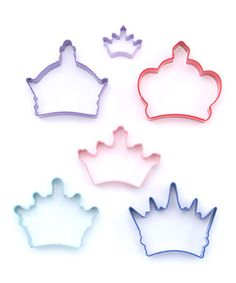 Take a look at this Crown Cookie Cutter Set by R on #zulily today!