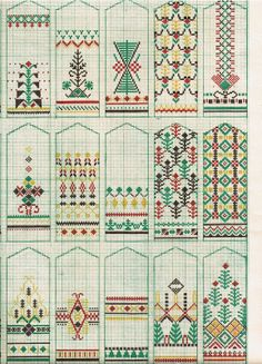 Raksti - A K - Picasa Web Albums. These would be cute as bookmarks.