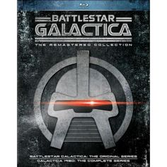 Battlestar Galactica: The Remastered Collection (Blu-ray Disc) - Larger Front