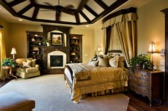 Secret passage from the Master Bed right bookcase that slides open, through the to the Phantom of the Opera cave, to the private jacuzzi with waterfall exit to outdoor pool...genius!!! 2008 parade home...my fave home of all time!
