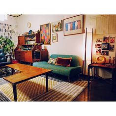 All About Space, Room Interior, Interior Design, Workspace Design, Environment Design, Retro Home, Simple House, Home Furniture, Sweet Home