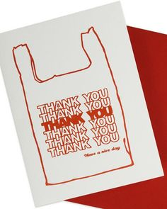 Learn the proper steps to crafting the perfect thank you! (image: DesignMilk)