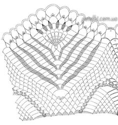 crochet home: napkin tablecloth Crochet Tablecloth Pattern, Crochet Doily Diagram, Crochet Bedspread, Filet Crochet, Knit Crochet, Doily Patterns, Embroidery Patterns, Thread Crochet, Crochet Doilies