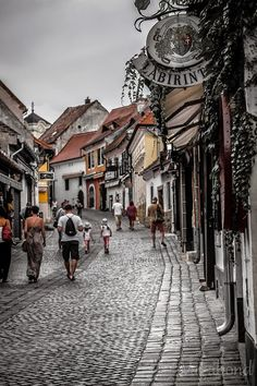 Streets of Szentendre, Hungary Budapest - architecture & streetstyle