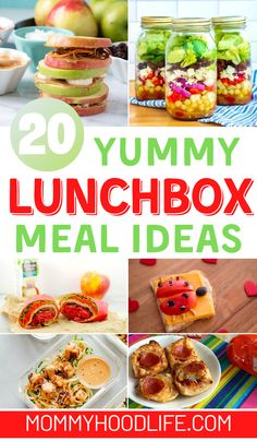 20+ Yummy Meals To Create Delicious Lunchbox Ideas Quick Recipes, Easy Healthy Recipes, Quick Easy Meals, Healthy Snacks, Yummy Lunch Box, Lunch Box Recipes, Dinner Recipes, Lunchbox Ideas, Packing Lunch