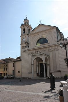 Kirche des Don Camillo in Brescello - Kultort in der Po Ebene