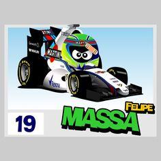 Formula 1, Valtteri Bottas, F 1, Le Mans, Hot Wheels, Race Cars, Racing, Caricatures, Mini