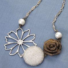 Vintage Groove Necklace   www.makingmemoriesjewelry.com