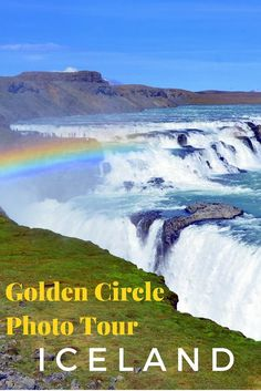 Guide and tips to doing the Golden Circle tour in Iceland. This is Gulfoss Waterfalls which is one of Europe's most powerful waterfalls.