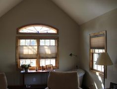"""Our customer said: """"Easily adjustable as sun's angle changes without totally blocking the nice view of the yard. installation was a snap! Will purchase more when more rooms are complete."""""""