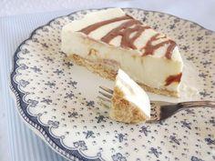 Tarta de chocolate blanco y galletas... ¡¡Irresistible!!