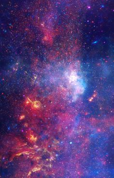 Galactic Center Region | The sites will unveil a giant, 6-foot-by-3-foot print of the bustling hub of our galaxy that combines a near-infrared view from the Hubble Space Telescope, an infrared view from the Spitzer Space Telescope, and an X-ray view from the Chandra X-ray Observatory into one multiwavelength picture. Experts from all three observatories carefully assembled the final image from large mosaic photo surveys taken by each telescope.