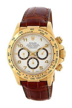 Rolex Men's Gold Watch