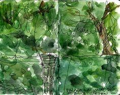 Garden In Palacio Nacional De Queluz