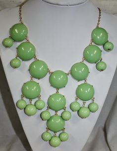 Bubbalicious Sage Bubble Necklace $19.95 www.gugonline.com