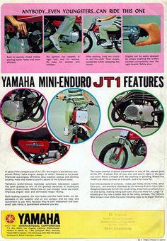 1971 Yamaha JT1 Mini Enduro 2 | Tony Blazier | Flickr