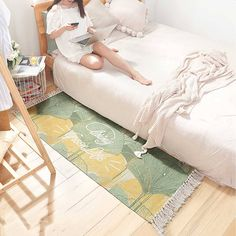 Category: Carpet Color: Multi-color For: All Material: Cotton,Textile Occasion: Living Room,Bedroom Type: Fashion,Comfortable,Eco-friendly,Safety, Decoration ...