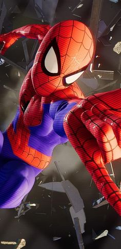 Top Spiderman Wallpapers - Far From Home, Into the Spider-Verse - Update Freak Marvel Villains, Marvel Comics Art, Marvel Comic Universe, Marvel Fan, Marvel Memes, Marvel Characters, Marvel Avengers, Deadpool And Spiderman, Spiderman Art