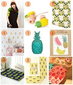 I see pineapples everywhere| Selection #1 by We Make A Pair
